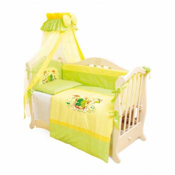 Постельный комплект 4 эл Twins Evo Лягушки 4066-A-014, green, зеленый