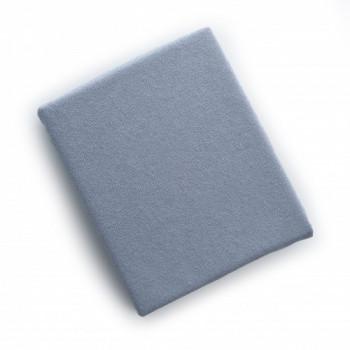 Наматрасник Twins влаго- непроницаемый на резинке махровый 120х60 6040-10, grey, серый