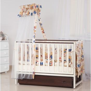 Постельный комплект 8 эл Twins Standard мульти 4050-B-20 multicolor, мультиколир