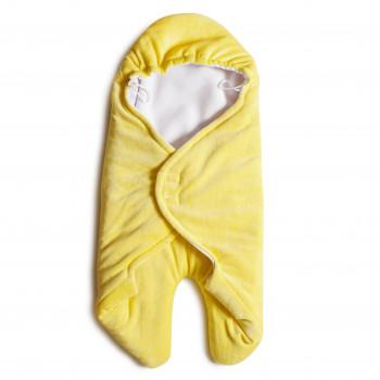 Конверт - обнимашка Twins велюр 9011-TO-05, yellow, желтый