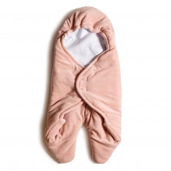Конверт - обнимашка Twins велюр 9011-TO-24, powder pink, розовый дым