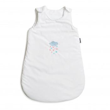 Спальный мешок Twins с вышивкой  9099-ТSVС-01, Хмарки, белый