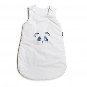 Спальний мешок Twins с вышивкой 9099-ТSVP-01, Панда, білий