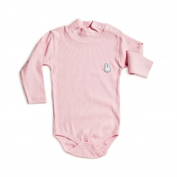 Боди розового цвета для девочки от 1 года