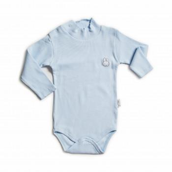 Боди с длинным рукавом голубого цвета для детей от 1 года