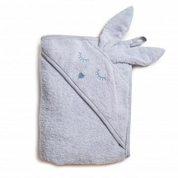Полотенце Twins Rabbit 100x100 1500-TANК-10, grey, сірий