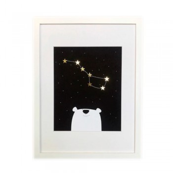 Постер Sabo Constellation PS11gr, black, черный
