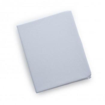 Простыня на резинке Twins 120x60 для овальной кровати 6030-01, white, белая