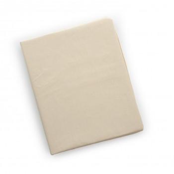 Простыня на резинке Twins 120x60 для овальной кровати 6030-02, beige, бежевая