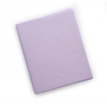 Простыня на резинке Twins 120x60 для овальной кровати 6030-08, pink, розовая