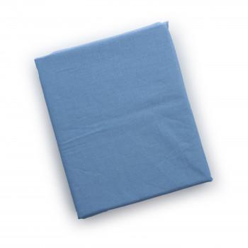 Простыня на резинке Twins 120x60 для овальной кровати 6030-04, blue, голубая