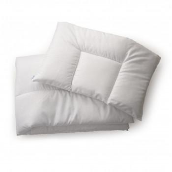 Одеяло и подушка Twins 120х90 шерстепон 1600-186-01, white, белый