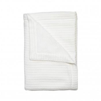 Плед Twins Pastel nude 100х100 1407-TP-01, white, белый