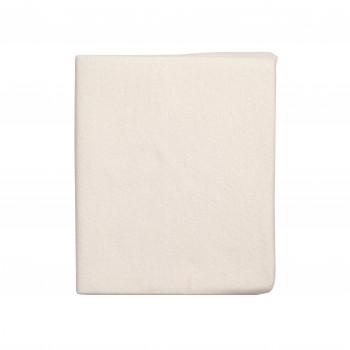 Простирадло на резинці Twins 120x60 Soft Organic (фланель преміум) 6030-TSO-02, beige, бежевий