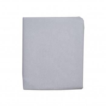 Простыня на резинке Twins 120x60 Soft Organic (фланель премиум) 6030-TSO-10, grey, серый