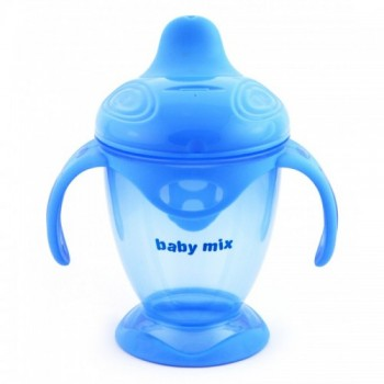 Поилка - непроливайка Baby Mix 200 ml RA-C1-1711 RA-C1-1711 T, turkus, бирюза