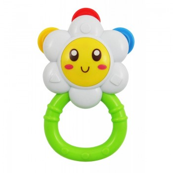 Игрушка пластиковая Baby Mix PL-400062 Цветочек PL-400062, mix, мультиколир