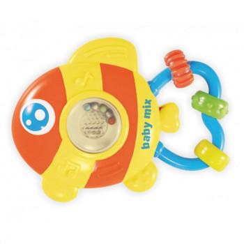 Игрушка пластиковая музыкальная Baby Mix PL-380042 Рыбка PL-380042, mix, мультиколир