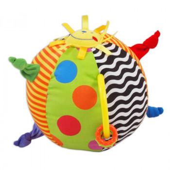 Плюшевая игрушка Baby Mix TE-9811-20 Мяч TE-9811-20, mix, мультиколир