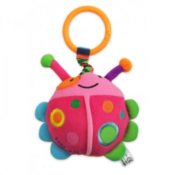 Плюшевая подвеска с вибро Baby Mix TE-9806 Пчелка TE-9806, mix, мультиколир