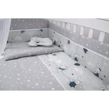 Сменная постель 3 эл Twins Modern 3040-PM-04, голубой, синий