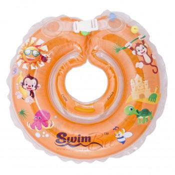 Круг для купания SwimBee 1111-SB-04, Оранжевого цвета