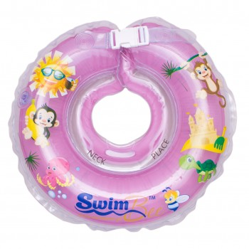 Круг для купания SwimBee 1111-SB-01, Сиреневого цвета