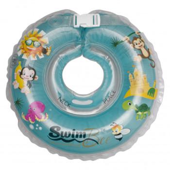 Круг для купания SwimBee 1111-SB-07, бирюзового цвета