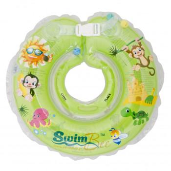 Круг для купания SwimBee 1111-SB-03, зеленого цвета