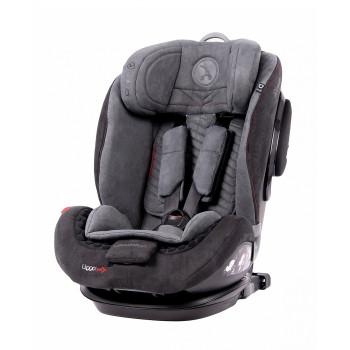Автокресло Coletto Uggo Isofix 9-36 9024-CUI-10, grey, черный/серый