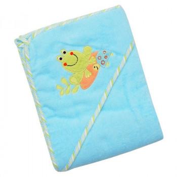 Полотенце Baby Mix Z-CY-33 100x100 Frog Z-CY-33, Froggy, зеленый