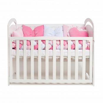 Постельный комплект 6 эл Twins Love 4020-TL-08, pink, розовый