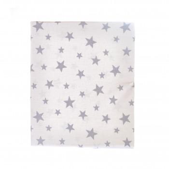 Простыня на резинке Twins 120x60 бязь Stars 6010-20star-20, neutral, мультиколир