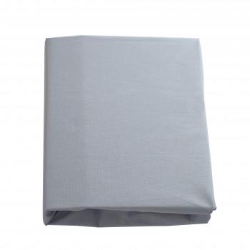 Простыня на резинке Twins 120x60 бязь organic 6010-TO-10, grey, серый
