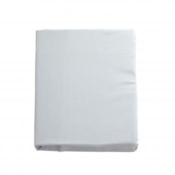 Простыня на резинке Twins 120x60 бязь organic 6010-TO-01, white, белый