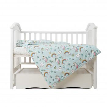Сменная постель 3 эл Twins Unicorn 3021-TU-14, mint, мятный