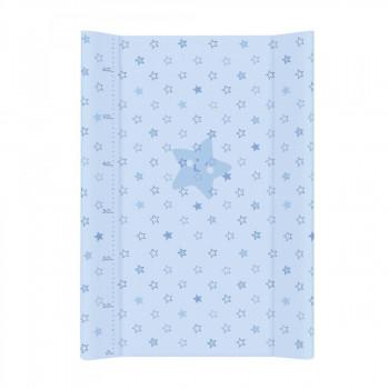 Пеленальная доска Cebababy 50x70 Basic line W-200-066-160, Звездочка голубая, голубой