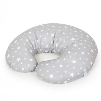 Подушка для беременных Ceba Physio Mini джерси W-702-700-635, Milky Way, серый