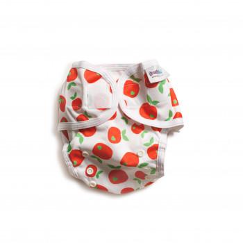 Защитные шорты Bambinex универсальные BB00031, Apple, белый/зеленый