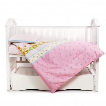 Бампер Twins Comfort 2051-C-026, Утята розовые, розовый
