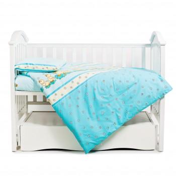 Бампер Twins Comfort 2051-C-025, Утята голубые, голубой