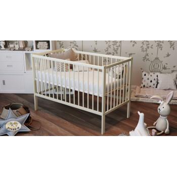 Кровать Дубок Малютка без ящика 9801-DM-202, слоновая кость, молочный
