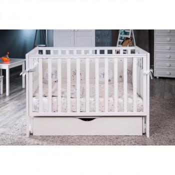 Кровать Twins Pinocchio L100-P-01, белый, белый