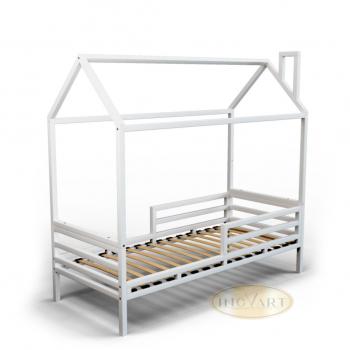 Кровать IngVart Дом SKU34000-01, белый