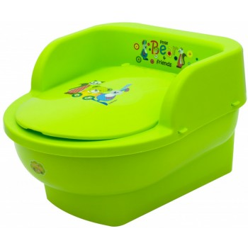 Горшок кресло Maltex Bear & Friends 5429 green, зеленый