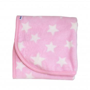 Плед Twins велюр Star 80х104 1409-TVS-08, pink, розовый