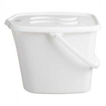 Ведерко для памперсов Maltex Classic white, белый