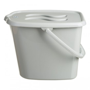 Ведерко для памперсов Maltex Classic grey, серый