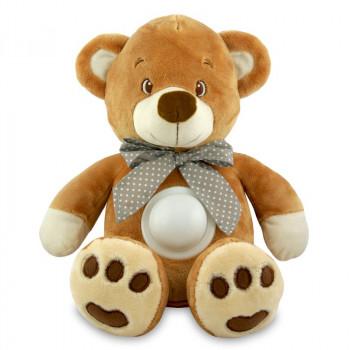 Музыкальный Мишка Baby Mix STK-13138 с лампой STK-13138 brown, brown, коричневый