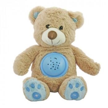 Музыкальный Мишка Hadi Baby Mix STK-18956 с проектором STK-18956 blue, blue, голубой